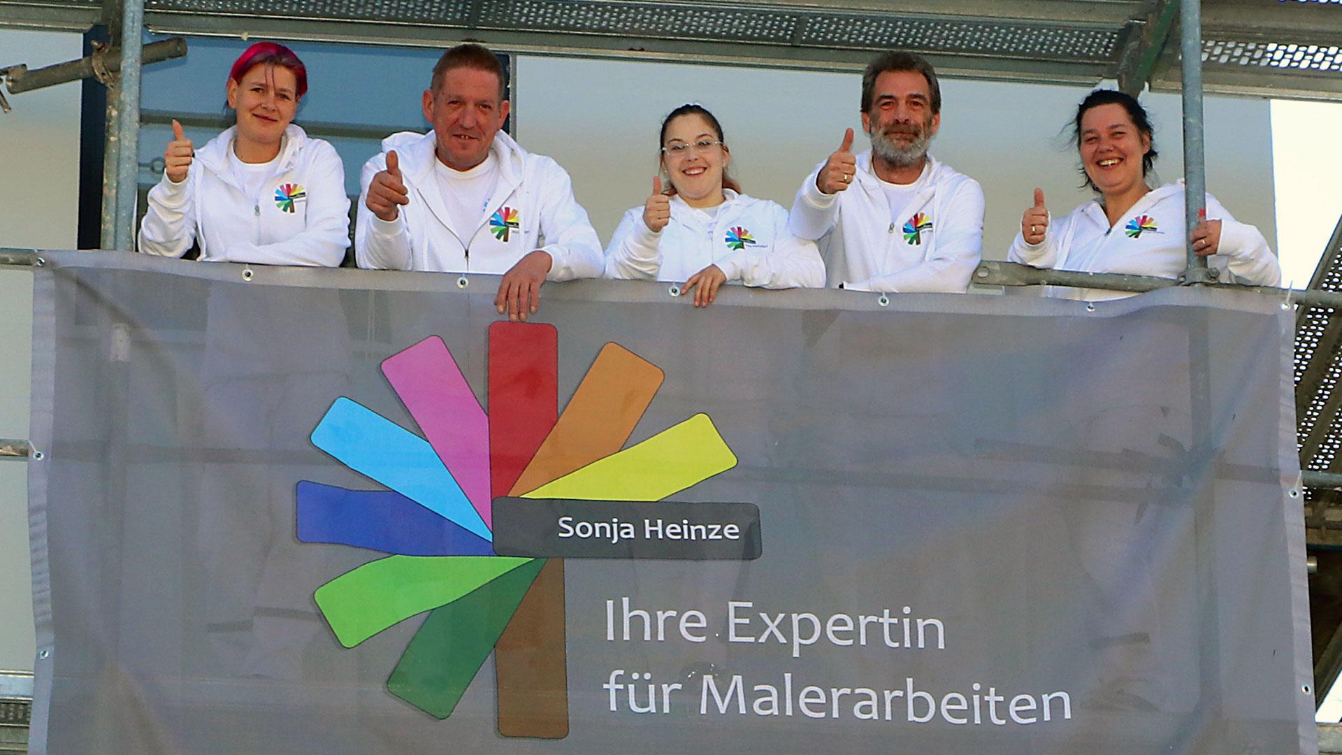 Gruppenbild Team Heinze
